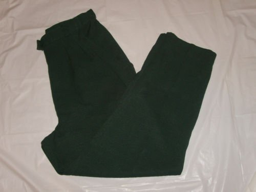 Women's Hill Archer Dress Pants size 10P Green