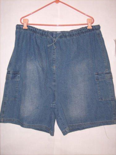 Premier International Blue Denim Jean Shorts size 3X