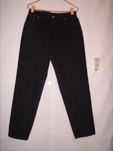 Levi's 550 Black missing levi's on red tag Jeans sz 14