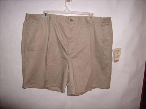 Men's Haggar Clothing Co. Khaki Tan Shorts size 49 EUC