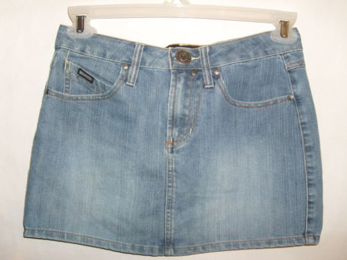 Squeeze Jeans Brand Mini Jean Skirt size 5/6