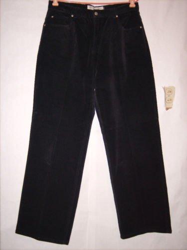 Mountain Lake Black Corduroy Boot Stretch Pants Size 34