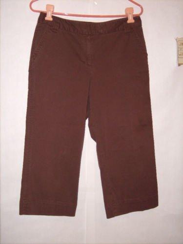 Style & Co. Brown Dress Pant Capris size 8