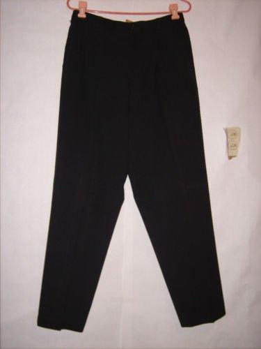 Liz Baker Essentials Black dress Pants size 14 pleated