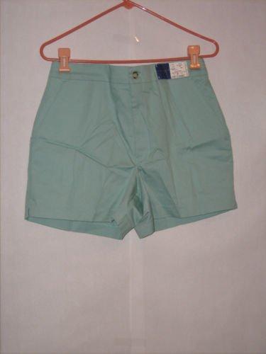 Towncraft Aqua Blue Golf Dress Shorts size 34 NWT