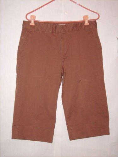 Wheatherproof Brown Dress Pant Capris Size 12