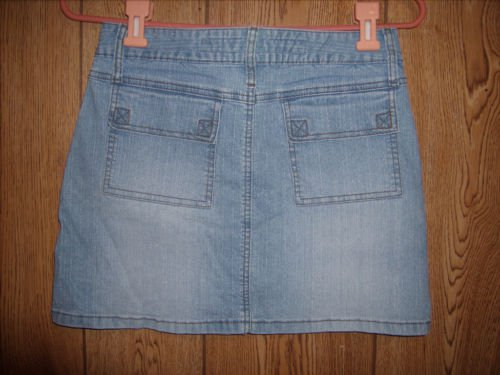 Mudd Light Blue Denim Jean Skirt size 3 Juniors