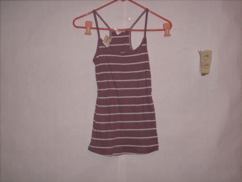 Maurices Spaghetti Strap Cotton Top size M Juniors NWT