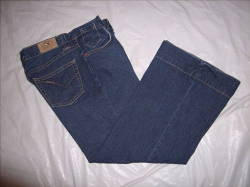 Tommy Hilfiger Blue Denim Jean Capris size 5 Juniors