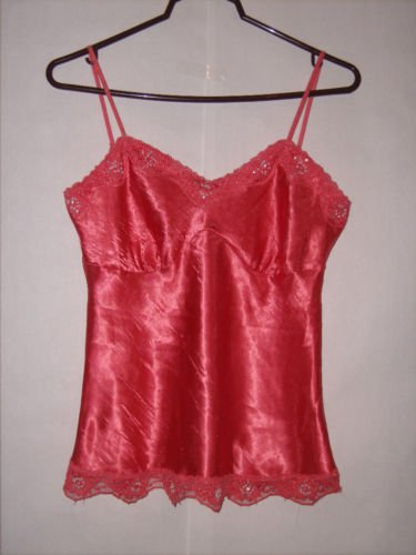 Studio Y pink Spaghetti Strap Blouse Top size M EUC
