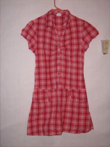 Maurices Summer Dress Plaid Size 13/14 Juniors