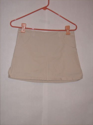 Duck Head Beige Khaki Mini Skirt size 5 Juniors