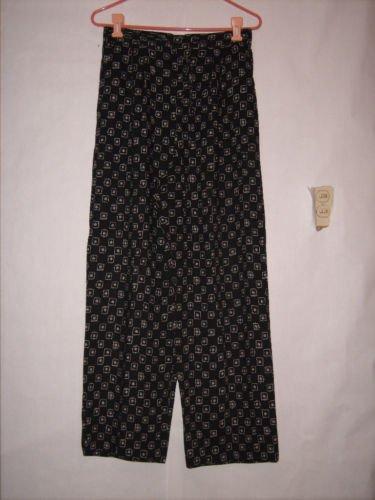 Hunt Club black/white Lounge Casual Pants size L