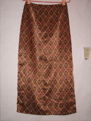 A. Byer California Long Geo Pattern Skirt Size 11 Juno