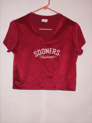 CSA for Women Oklahoma Sooner Jersey size M EUC