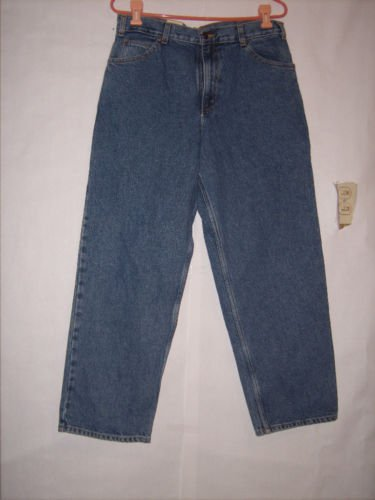 Boy's Arizona Relaxed Blue Denim Jeans size 22 H NWT