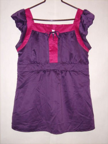 Chadwicks Sleeveless Summer Blouse Top Size 16