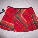 Girl's Ralph Lauren Essentials Plaid Skort size 12 NWT