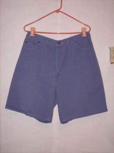 Faded Glory Lavender Denim Jean Shorts size 18 AVG