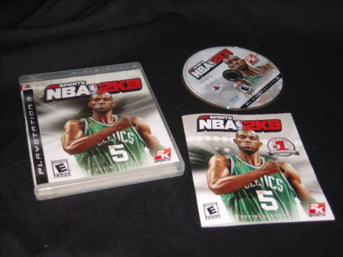 Playstation 3 Video game NBA 2K9 in very good condition with book