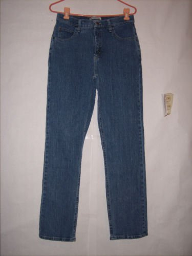 Riders Relaxed Blue Denim Jeans size 8 M Boot Cut