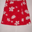 White Stag Floral Print Stretch Skort Size 6 Ladies