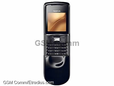 Nokia 8800 Sirocco Edition (dark (black))