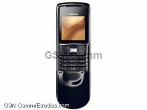 Nokia 8800 Sirocco Edition (dark (black))