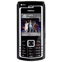 Nokia N72 (128 MB) (gloss black)