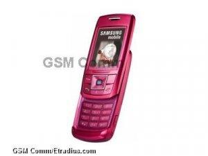 Samsung E250 (pink)
