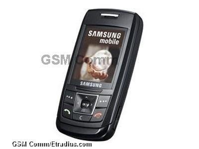 Samsung E250 (black)