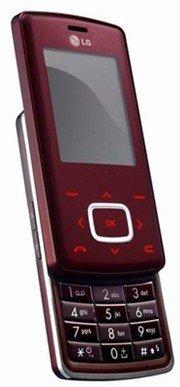 LG Chocolate (KG800) (wine red)