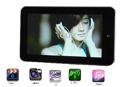 cheap 7 inch 3g mid tablet pc android 2.2
