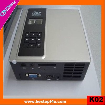 Mini DLP projector 1080p with contrast 2000:1