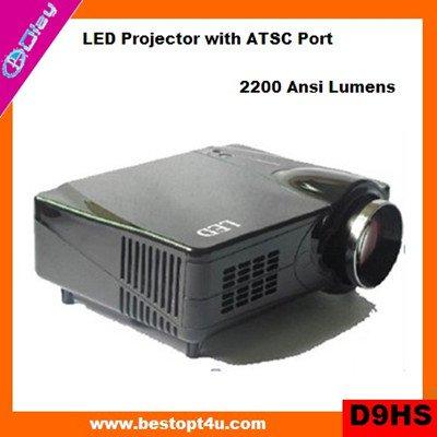 Portable hd led projector 1080p (D9HS)