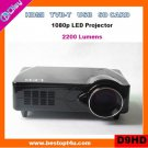 Portable led video projector HDMI 1080p with USB/SD reader (D9HD)