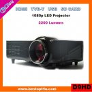 Cheap led projector HDMI 1080p with USB/SD reader (D9HD)