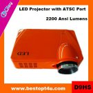 Portable hd led tv projector 1080p (D9HS)