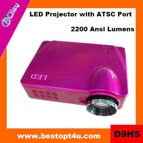 Portable mini led projector 1080p (D9HS)