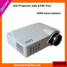 Portable mini home theater projector 1080p (D9HS)