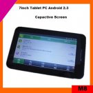 7inch tablet pc android 2.3 support flash 10.3 (M8)