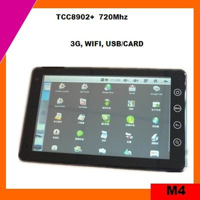 Cheap 7inch android 2.3 tablet pc sale tcc8902 (M4)