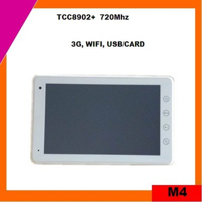7inch multi-touch tablet pc mid 4GB android 2.3 (M4)