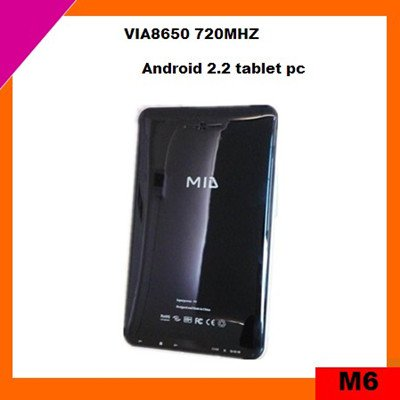 cheap 7 inch mid tablet pc touch screen android 2.2 with WIFI, 3G(M6)