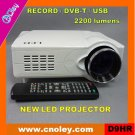 Led record projector with DVB-T/USB/SD (D9HR)