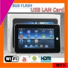 low cost 7inch android 2.3 Tablet PC mid built in 8GB flash (M13)