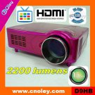 low cost home cinema projector with HDMI and tv tuner, without Scart(D9HB)