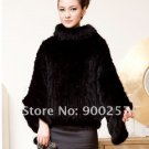 Gorgeous Genuine REAL Hand Knited Mink Fur Shawl