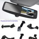 Car Rearview Mirror w/ 4.3 inch LCD Monitor with 5 Way Video Input for Camera and DVD