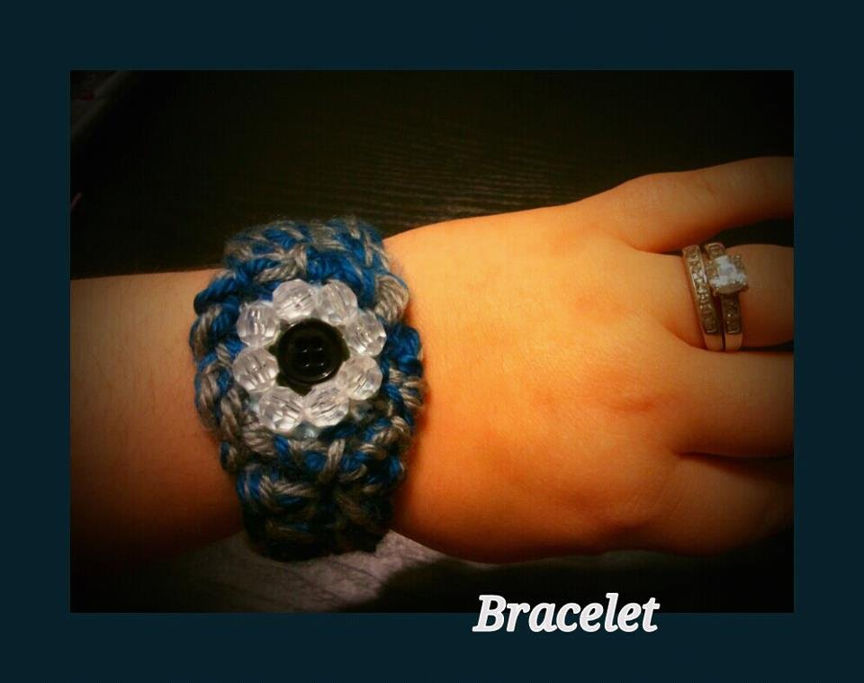 Stretch Crochet Bracelet